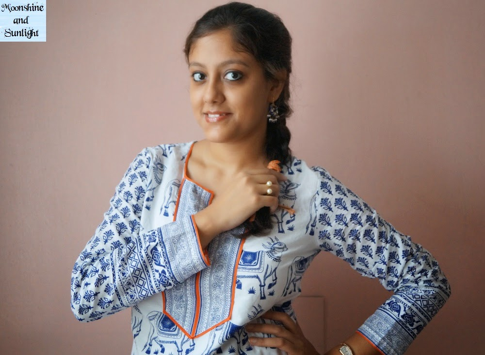Indian fashion blog, Kolkata: Sticking to the roots |OOTD