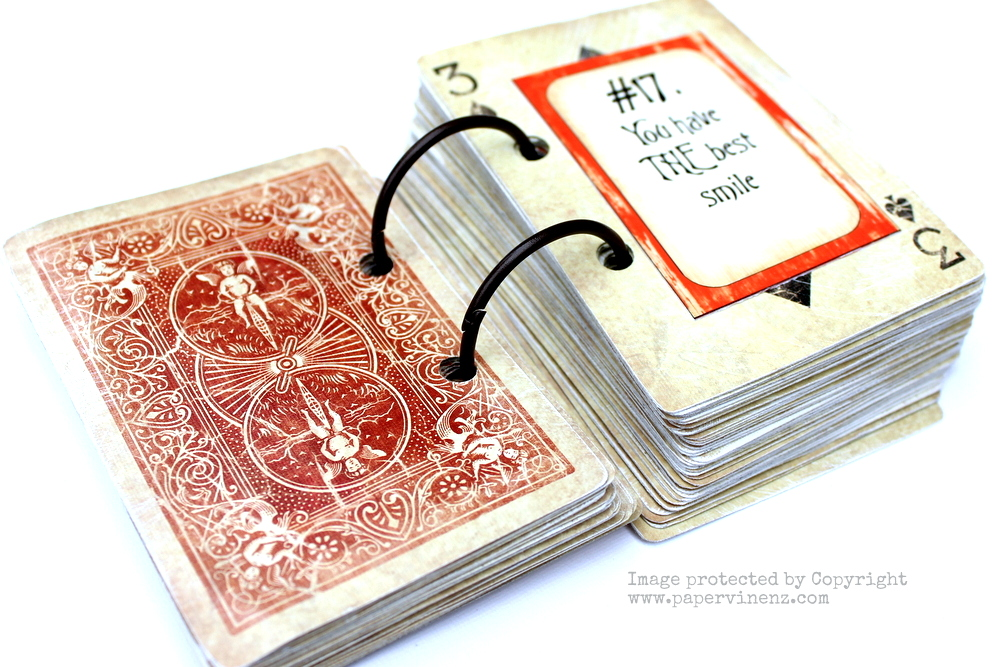 """52 reasons i love you"""" cards tutorial 