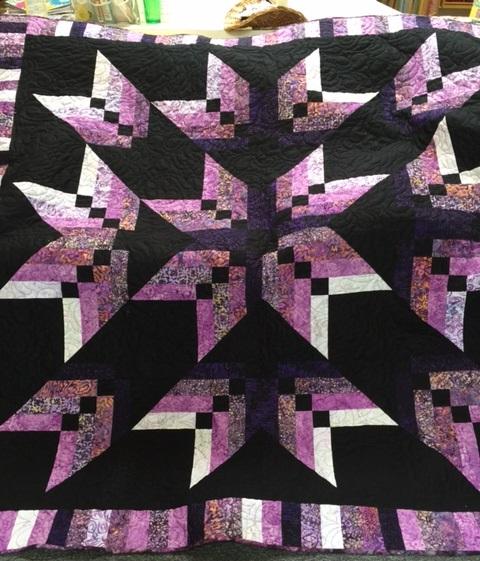 AlwaysQuiltingOnline: Binding Tool Star Quilt