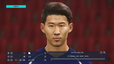 PES 2018 Faces Son Heung-Min by PESWB