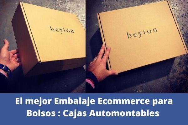 cajas para bolsos modelo caja  automontable