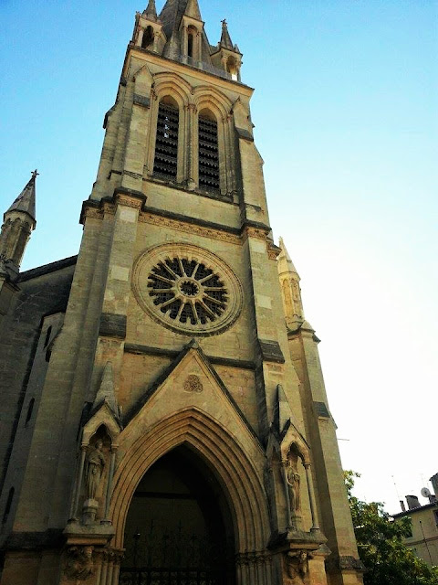 chiesa di sant'anna montpellier francia
