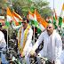 ''हाथ के साथ साईकिल यात्रा'' आज उत्तम नगर, विकासपुरी और नजफगढ़ विधानसभा में निकाली गई