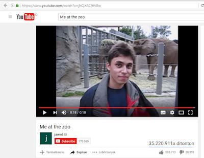 Sejarah perkembangan youtube