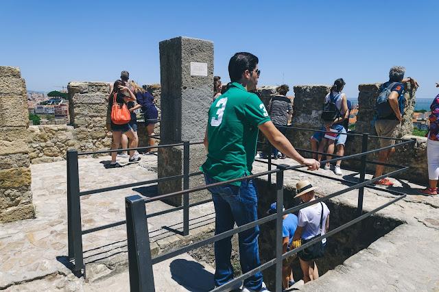 サン・ジョルジェ城(Castelo de S. Jorge)|中央塔(Torre de Menagem)