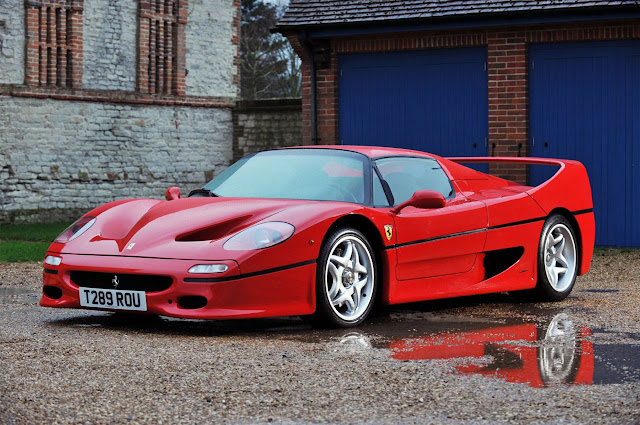 13 Year Old Tragically Dies In Ferrari F50 Crash In The UK