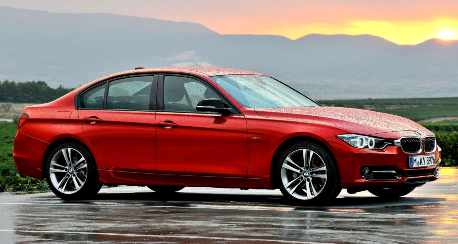 Bmw Serie 4 Red Colour Wallpaper Hd Background