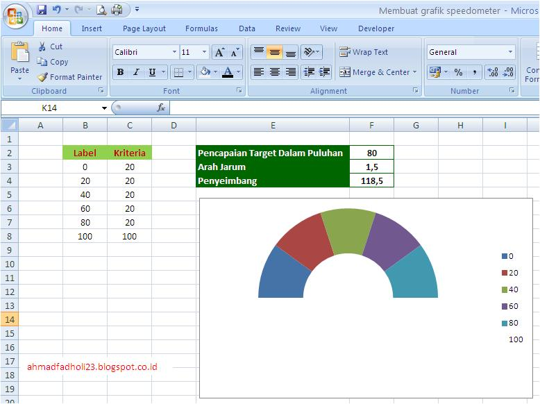 Membuat grafik bentuk diagram speedometer di excel bagian 1 mas membuat grafik bentuk diagram speedometer di excel ccuart Choice Image
