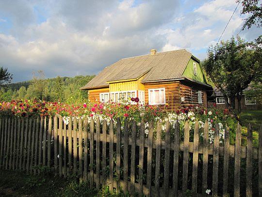 Dom w Starej Hucie.