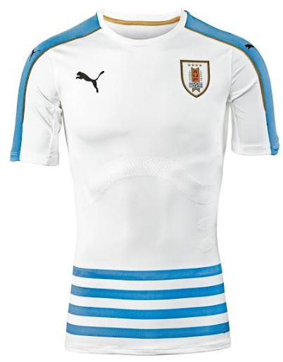 Uruguay 2016 Copa America home jersey