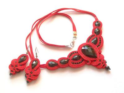 Elegancki komplet w stylu flamenco