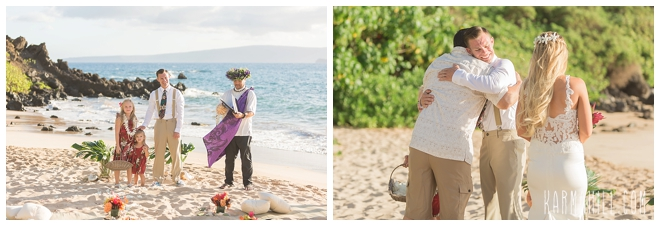 Maui Styled Beach Wedding