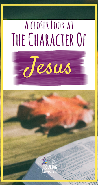Today at The Peculiar Treasure, we are taking a closer look at the character of Jesus and gain a deeper understanding of who he is.
