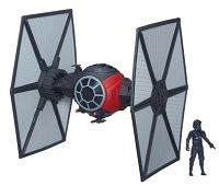 Veículo Classe II com Mini Figura Star Wars - Episódio VII Tie Fighter e Piloto First Order da Hasbro