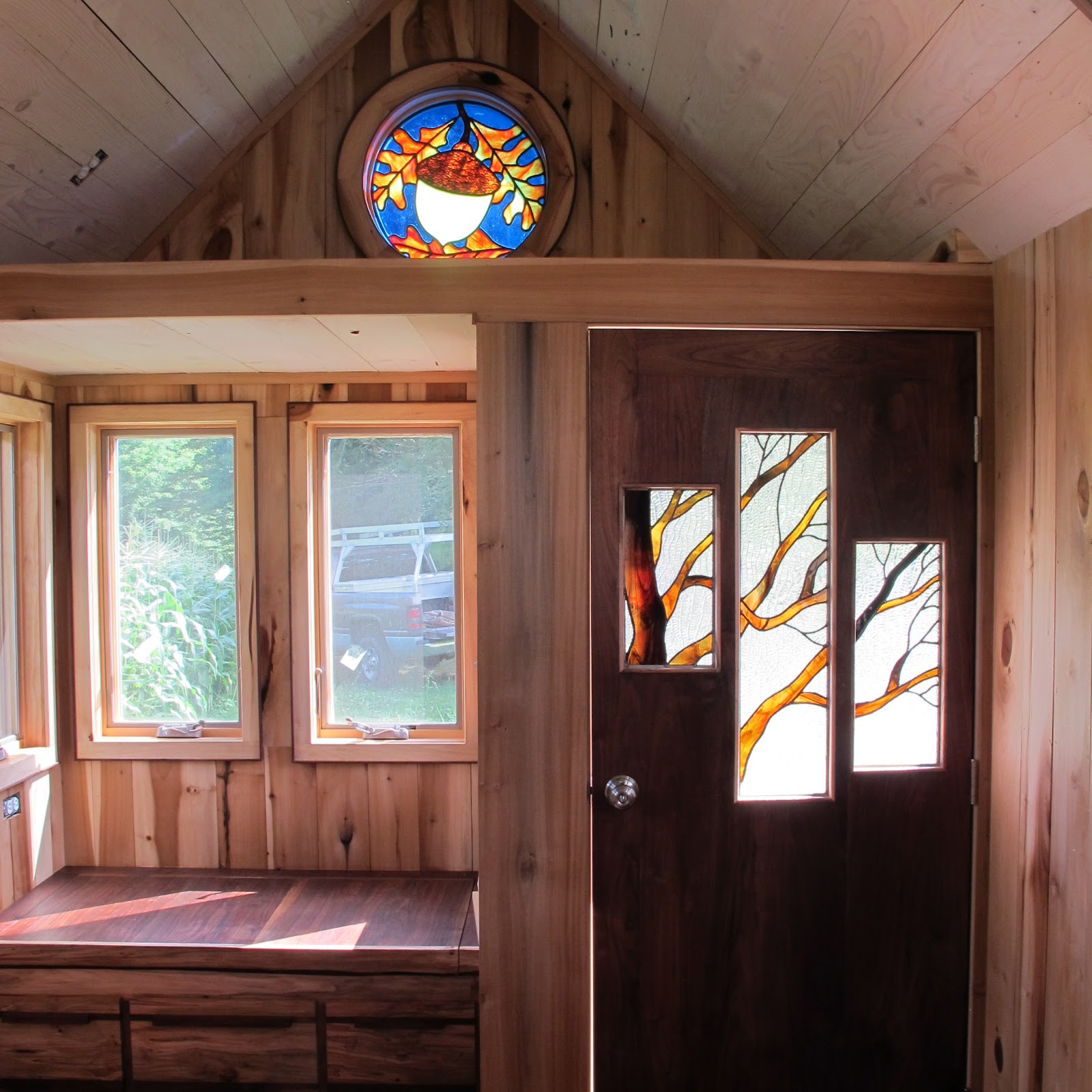 Small Homes Interiors: Owl Creek Happenings: Tumbleweed Tiny House II
