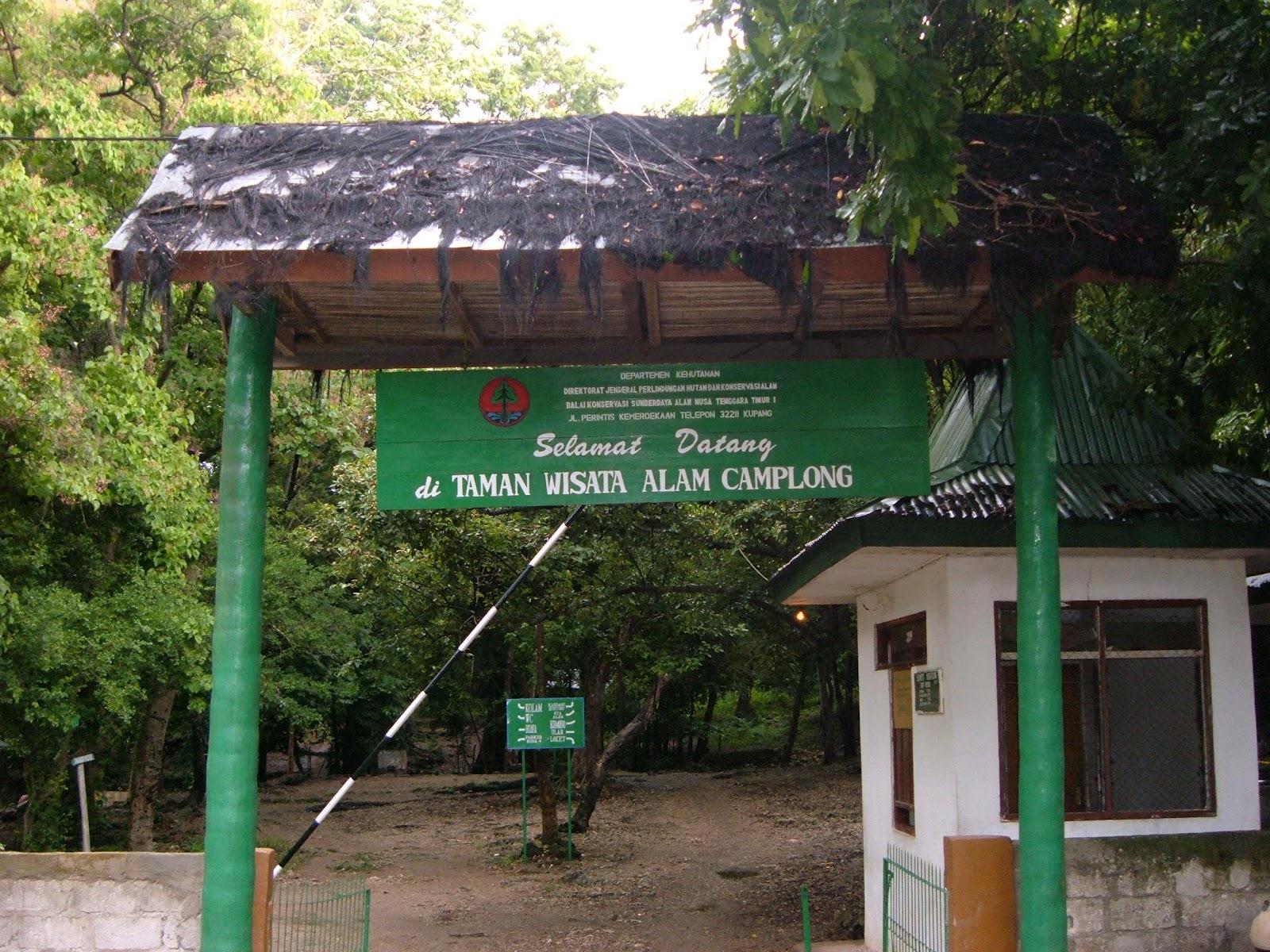 東ヌサトゥンガラ州のCAMPLONG(キャンプロング)自然観光公園