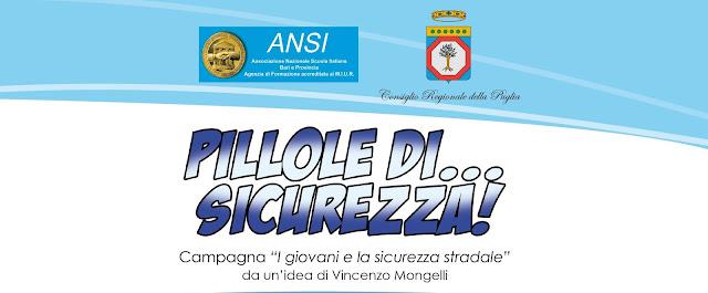 """""""Pillole di… Sicurezza!"""". Educazione alla sicurezza stradale lunedì 21 gennaio all'I. C. Marconi-Michelangelo di Laterza"""