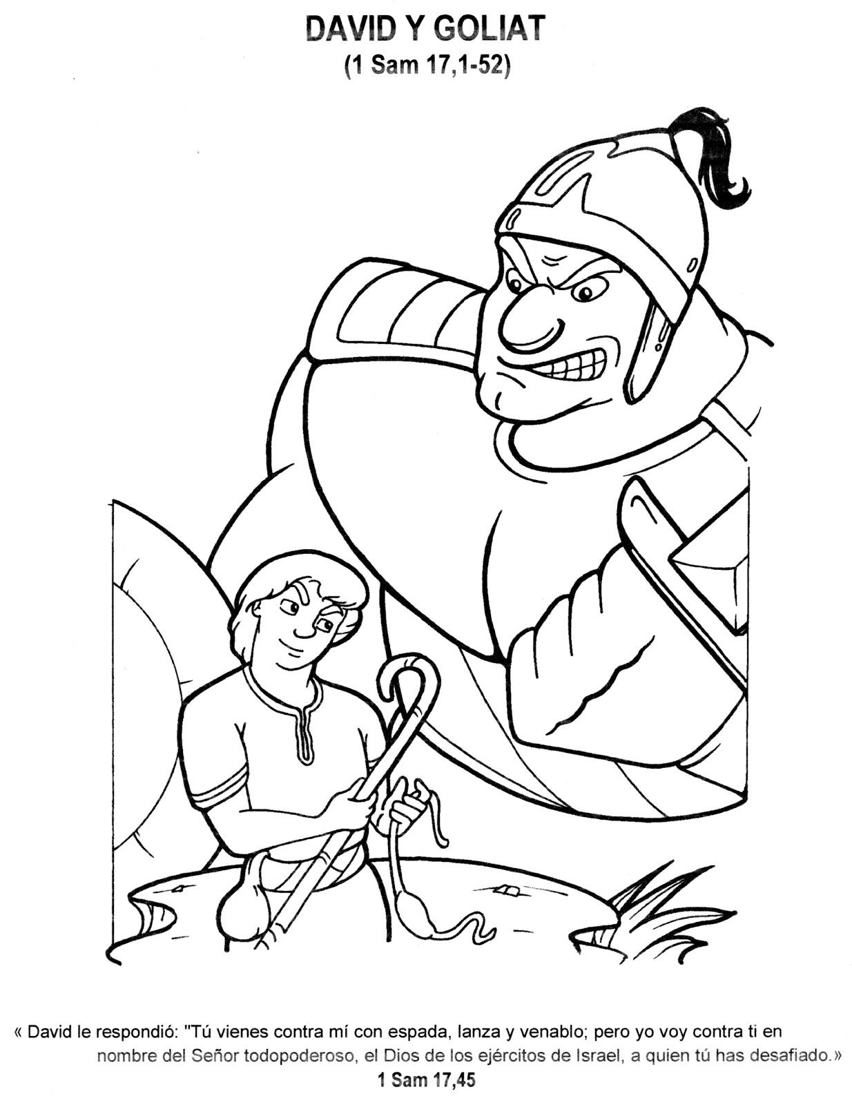 Dibujos Cristianos para colorear: Historias de la biblia