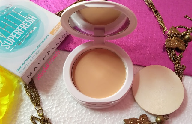 Maybelline white  super fresh compact review(Shade Coral)