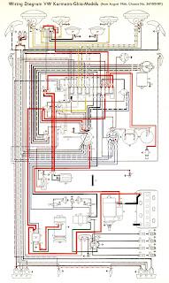 free auto wiring diagram 1966 vw karmann ghia models wiring diagram. Black Bedroom Furniture Sets. Home Design Ideas