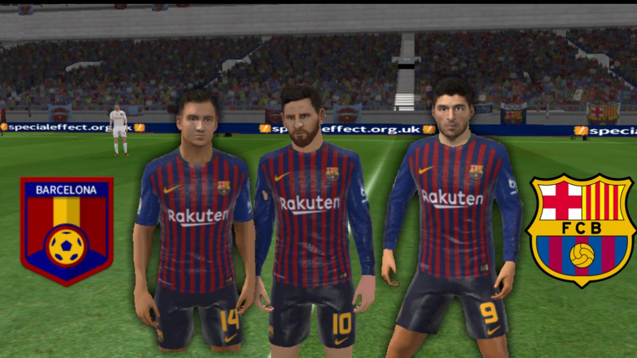 Create Fc Barcelona ★ Nike 18-19 Kits Logos & Teams