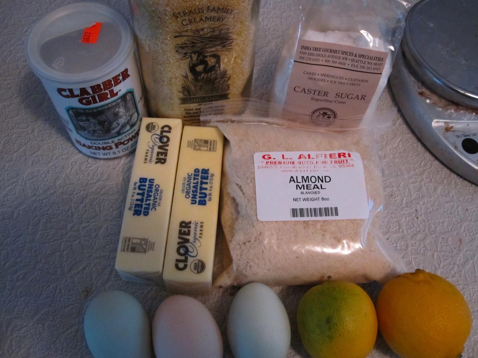Lemon Almond Meal Cake Nigella