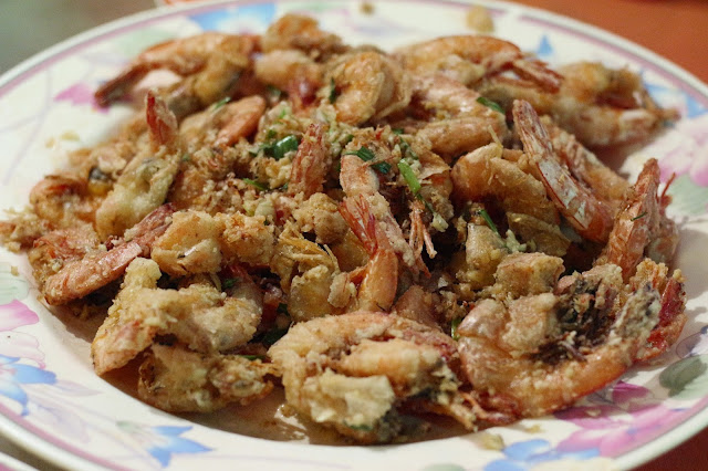 Udang Butter di Top Spot, Stall no 25