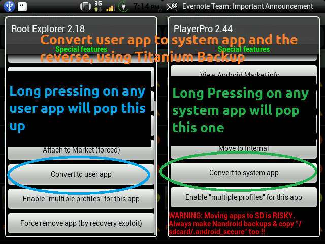 How to Convert User Apps to System Apps (and vice versa