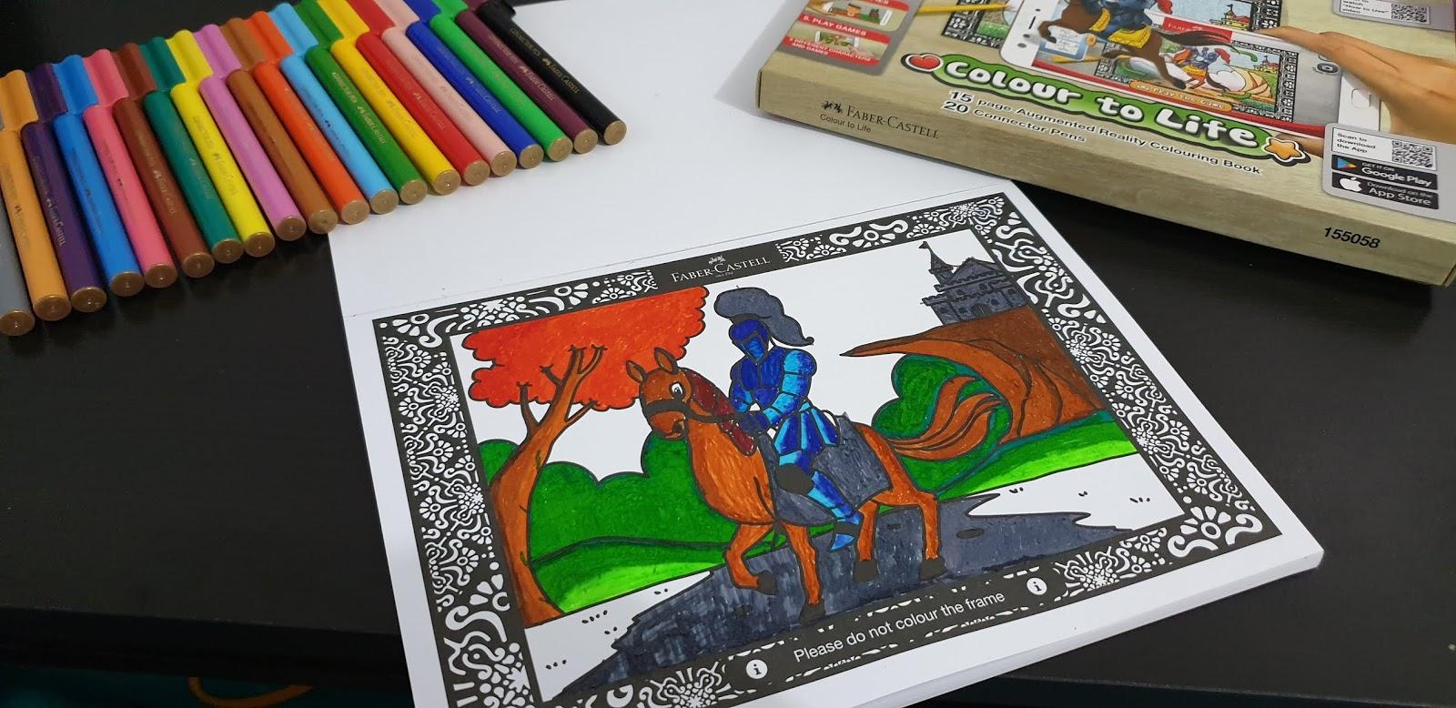 Ruang Baca Dan Tulis Keunggulan Produk Colour To Life Faber