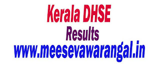 Kerala Board of Higher Secoundary Education DHSE 2016 Exam Results