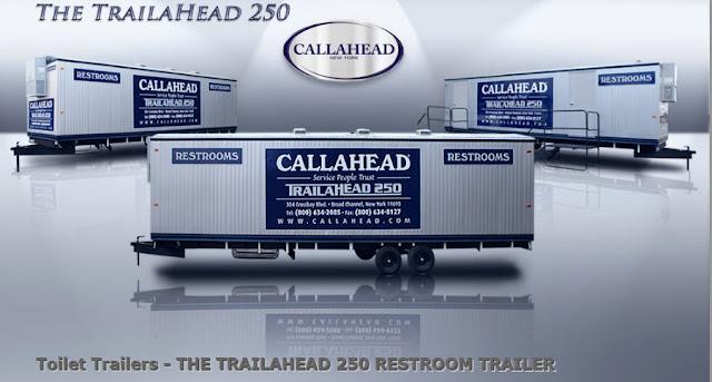 Toilet Trailers - Trailahead 250 Restroom Trailer