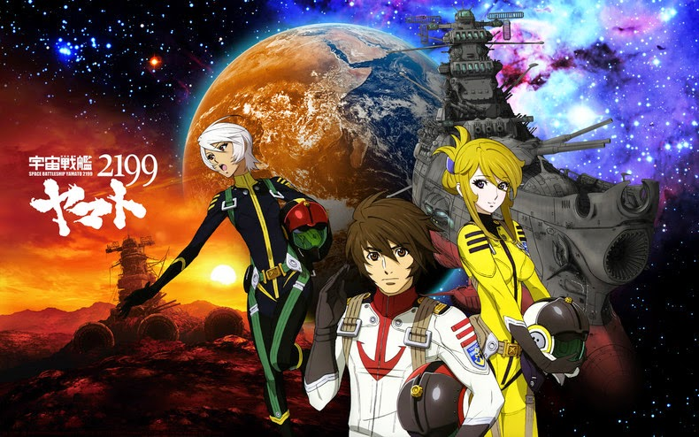 Download Uchuu Senkan Yamato 2199 Subtitle Indonesia (Complete)
