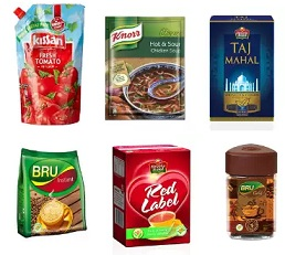 Upto 30% off on 24 Mantra, Lipton, Red Label Tea, Knorr Soup, Kissan Ketchup and Bru Coffee (Limited Period Offer)