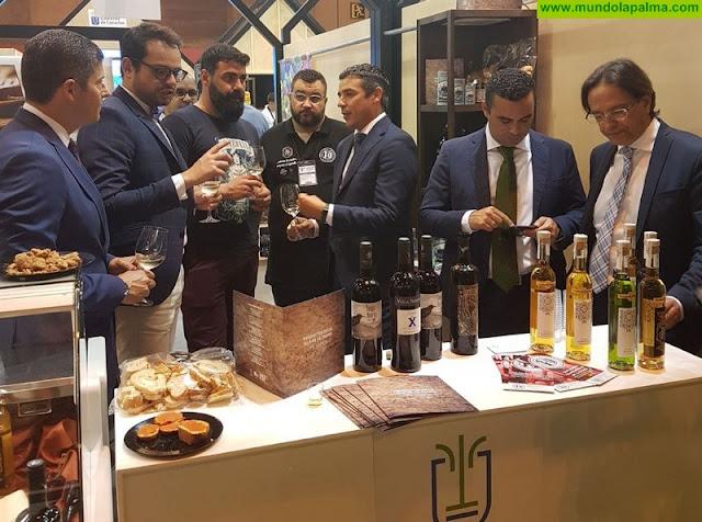 Sodepal promociona la gastronomía de La Palma en el Salón de Gourmets de Madrid