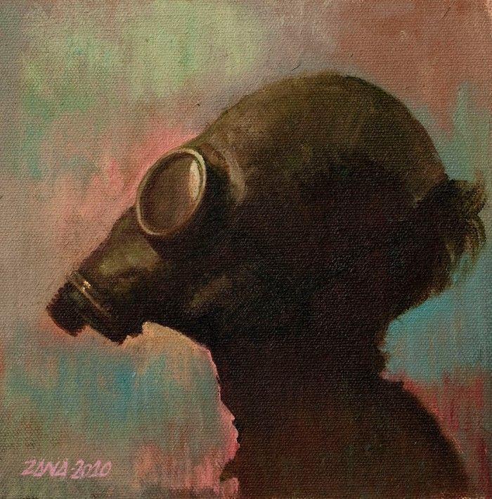 Бразильский художник. Dario Zana