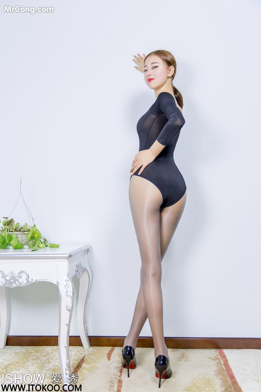 Image ISHOW-No.151-Han-Zhi-Ying-Flora-MrCong.com-005 in post ISHOW No.151: Người mẫu Han Zhi Ying (寒栀樱Flora) (31 ảnh)