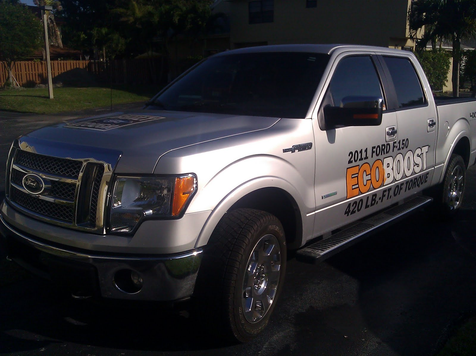 test drive short take 2011 ford f 150 ecoboost. Black Bedroom Furniture Sets. Home Design Ideas
