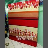 Kasur inoac motif bunga merah inoactasik