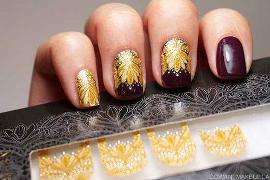 0030dc9890 I'm back with another Revlon by Marchesa nail applique for you to lust  after! Crown Jewels is one of the eight designs released in this gorgeous  ...