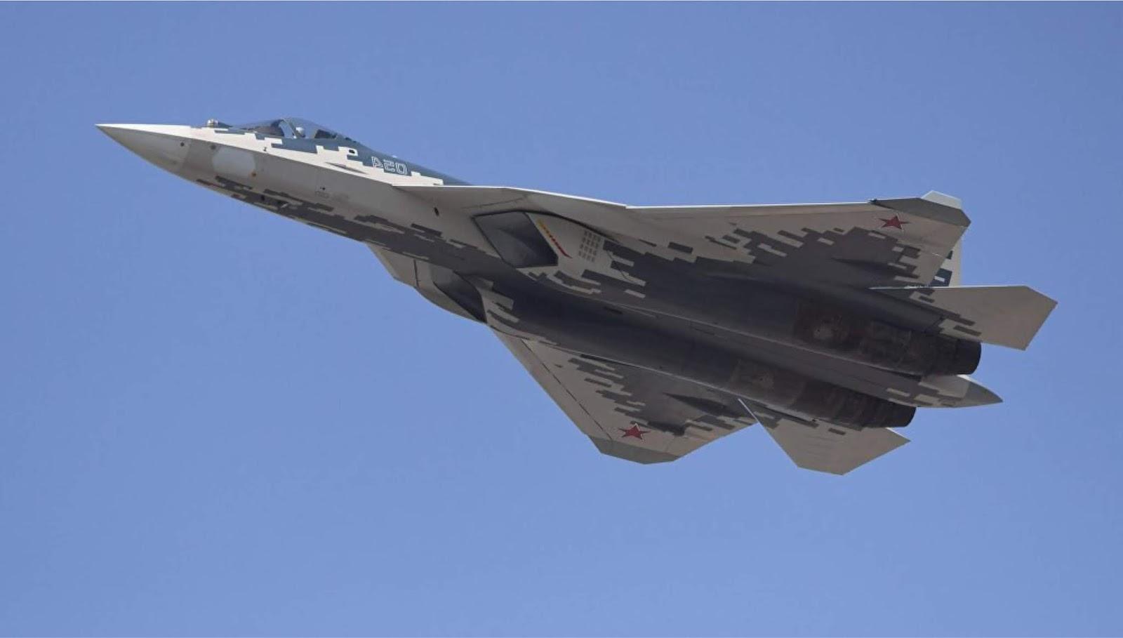 Pesawat tempur Su-57 akan menerima rudal hipersonik