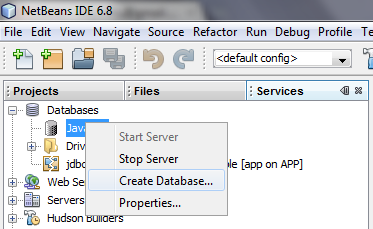 Java by examples: How to Import Export JavaDB(Database) in