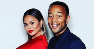 Chrissy Teigen and her husband, John Legend