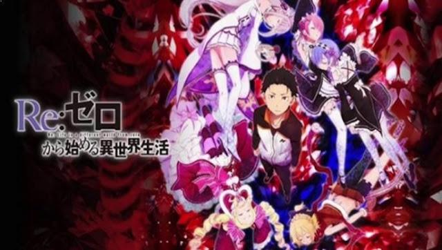 Re:Zero kara Hajimeru Isekai Seikatsu - Anime Time Travel Terbaik (Melakukan Perjalanan Waktu)