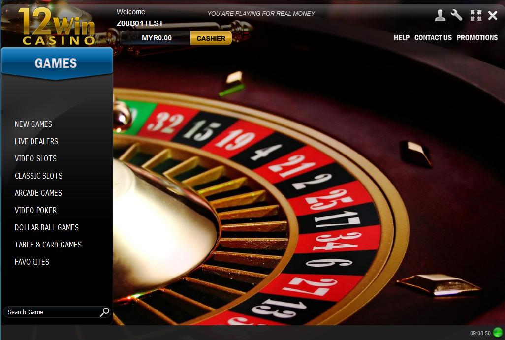 12 win casino game slot