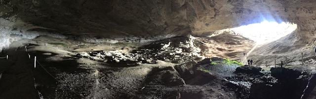 Panorámica de la Cueva del Milodón