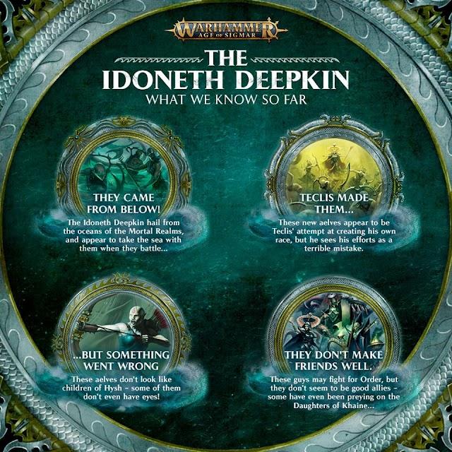 The Idoneth Deepkin, What we know so far.