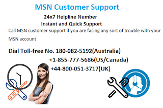 MSN support number