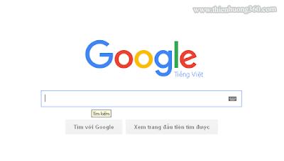 Tìm kiếm trên trang Google
