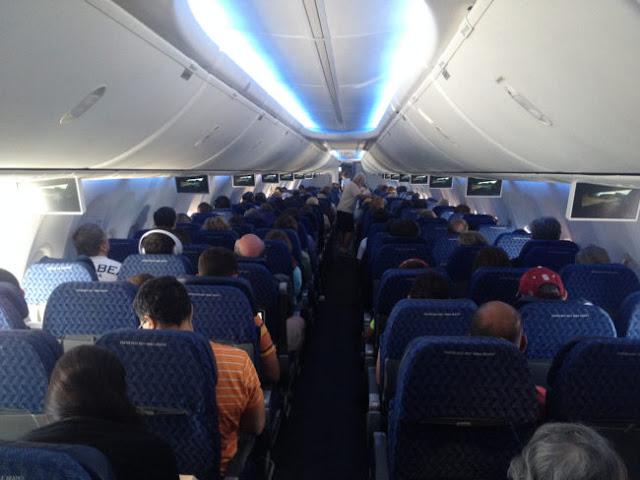 Si volar te pone nervioso, pasar por una situación como esta, te aterrorizará