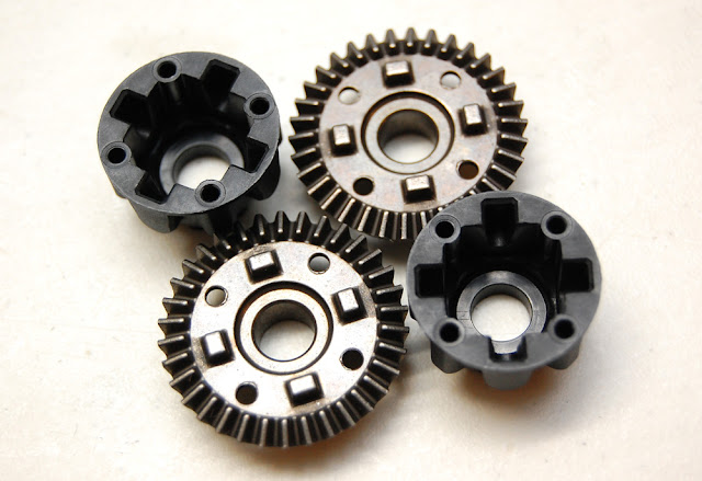 Traxxas TRX-4 differential gears and cases